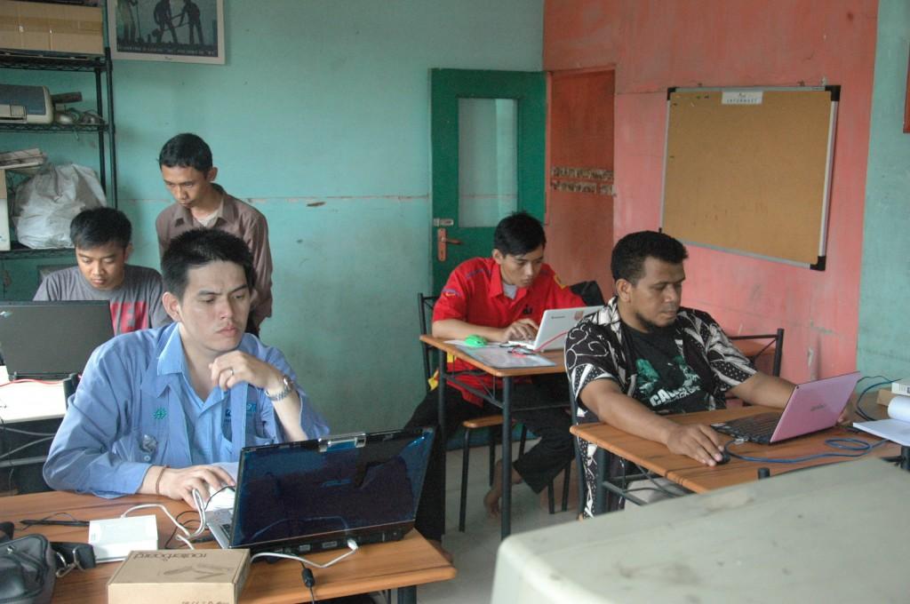 Foto Kegiatan Training Mikrotik